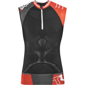 Compressport Trail Running V2 Top sin Mangas Hombre, black